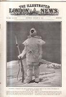 1916 London News January 22-Japan's Emperor coronation;Serbia's King Peter flees