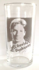 DAVID DUCHOVNY The X Files PINT SIZE BEER GLASS