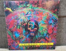 CRIMSON GLORY / STRANGE AND BEAUTIFUL  KOREA LP  VINYL