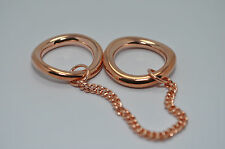 JULES SMITH 14k Rose Gold Plated Chained to You Ring sz 6 $75 NEW