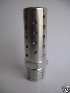 """1pc Pneumatic HIGH FLOW Exhaust Muffler Silencer 1/2"""" NPT MettleAir  SHF-N04"""