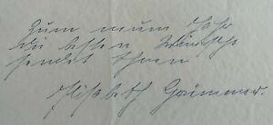 Opernsängerin Elisabeth Grümmer (1911-1986): Signiertes Albumblatt, Autografo
