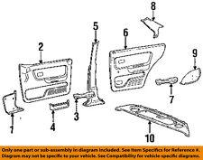 Genuine Hyundai 85890-24200-AU Wheel House Trim Assembly