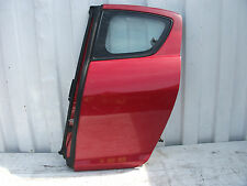 2004 MAZDA RX8 N/S/R PASSENGERS DOOR WITH GLASS + DOOR CARD 5DR COUPE RED FE27