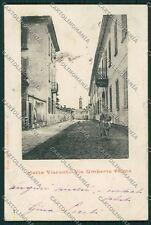 Milano Motta Visconti cartolina QQ8419