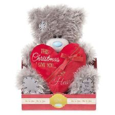 "Me to You 9"" This Christmas I Give You My Heart Plush Gift  - Tatty Teddy Bear"