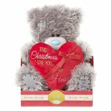 "Me to You 9"" This Christmas I Give You My Heart Plush Gift  - Tatty Teddy Bear"