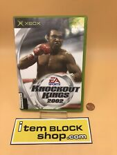 Knockout Kings 2002 (Microsoft Xbox, 2002) Complete