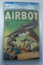 AIRBOY COMICS V4 #12 - 6.0 CGC GRADED              Scarce, only 3  CGC graded!!
