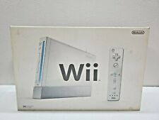 Nintendo Wii RVL-001 Console Wii remote Nunchaku Stand Manual Box