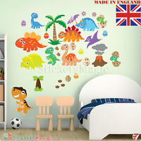 Dinosaur Nursery Wall Stickers Decal T Rex REMOVABLE Art Kids Childrens Bedroom