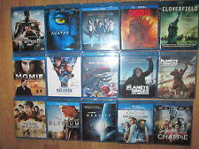 LOT BLU RAY  SCIENCE FICTION FANTASTIQUE DONT TRES RECENTS