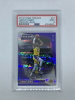2018 Panini Threads Premium BLUE LeBron James /75 #47 PSA 9 POP 3 First Lakers