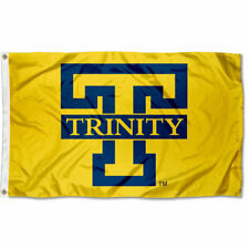 Trinity College Bants Gold Flag Large 3x5