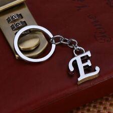 Fashion Letter E Key Chain Metal Key Ring Handbag Pendant Keychain Bag Charm