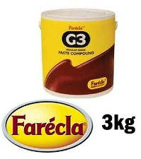 Farecla G3 Finishing Compound Paste Polish 3kg Regular Cutting Rubbing G3-3000