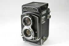 *Excellent* Minolta Autocord TLR Camera Chiyoko ROKKOR 75m F/3.5 From Japan