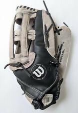 """Wilson 14"""" Black Elite Softball Baseball Glove RHT Right Hand ThrowerA2444"""
