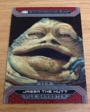 2015 Topps Star Wars Chrome Perspectives SUPERFRACTOR JABBA the HUTT #35 - 1/1