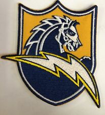 """San Diego Chargers Vintage CLASSIC  Embroidered Patch 4"""" x 3.5"""" NFL  Beautiful!!"""