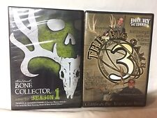 Michael Waddell's Bone Collector Season 1 & Drury Outdoors Big Game Hunting DVDs