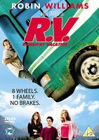 RV DVD Robin Williams Cheryl Hines Movie Film Original UK Release New Sealed R.V