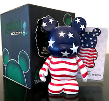 """DISNEY VINYLMATION 3"""" HOLIDAY SERIES 1 AMERICAN FLAG JULY 4TH INDEPENDENCE DAY"""