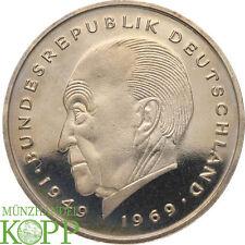 AA1165) BRD 2 Mark 1986 Konrad Adenauer (D - J nach Wahl )