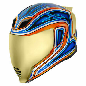 Icon Airflite Full Face DOT Motorcycle Helmet - Pick Size and Graphic Color