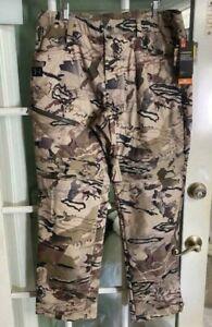 Under Armour Brow Storm Barren Camouflage Mid-Season Pants 1355317-999 Size XL