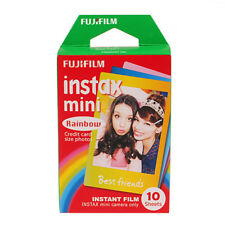10 Sheet Fujifilm Instax Mini Film Fuji instant photos 7s 8 90 25 50 SP-1 Camera