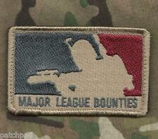 Mosul DAESH WHACKER US GREEN BERETS velkrō PATCH: American League Bounty Hunter