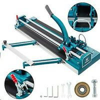 "31"" Manual Tile Cutter Cutting Machine Angle Grinder 800mm Durable Solid Rail"