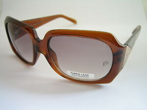 FABRIS LANE SUNGLASSES VEGAS BROWN FLA091726 WOMENS GENUINE BNWT