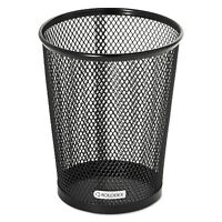 Rolodex Nestable Jumbo Wire Mesh Pencil Cup 4 3/8 dia. x 5 2/5 Black 62557