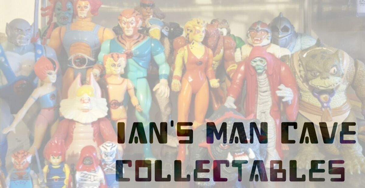 ian's man cave collectables