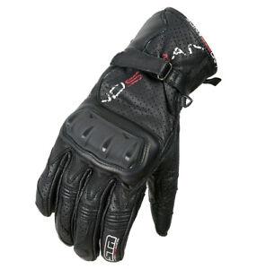 Lindstrands Jade Gloves 522530-00 Black Goatskin Hi-Art Size 7 Women Ladies