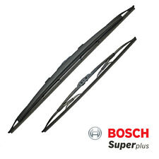 Hyundai i20 09-12 Bosch Super Plus Front Wiper Blades Set Spoiler Pair
