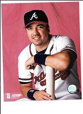 Vinny Castilla Unsigned 8x10 Photo Atlanta Braves