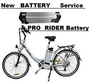 Pro rider Electric Bike Batteries Tourer Voyager  Wayfarer Colt Service