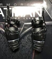 Hot Toys mms356 BVS Armored Batman Black Chrome Version 1/6 Amr Armor