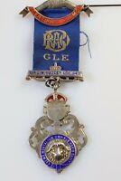 Vintage Nemo Mortalium Omnibus Horis Sapit Medal RAOB