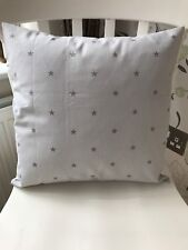 "Clarke & Clarke Grey Etoile Star 16 "" Cushion Cover Gift"
