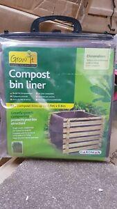 Gardman compost bin liner 80 x 80cm.  Helps to compost more quickly.