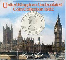 UK 1982 UNCIRCULATED COIN SET