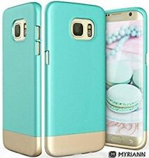 Galaxy S7 Edge Case, Myriann Protective SOFT-Interior Scratch Protection Base