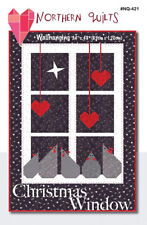 Moda CHRISTMAS WINDOW Northern Quilt SNO Quilt Kit  + binding + pattern