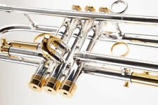 Silver-Plated Finish Professional Trumpets