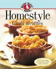 Gooseberry Patch Homestyle Family Favorites: Tried & True Recipes from-ExLibrary
