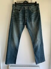Mens Blue 505 Jeans From LEVI STRAUSS - Size W33 L32